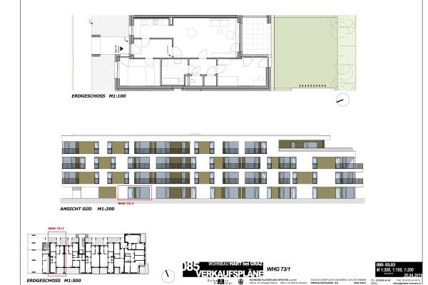Pachern-Hauptstraße 73: 3-Zimmerwohnung mit Balkon